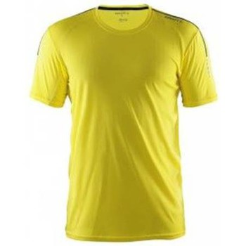 Clothing Men short-sleeved t-shirts Craft Mind SS Tee Yellow