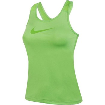 Clothing Women short-sleeved t-shirts Nike Pro Cool Green
