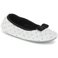 Shoes Women Slippers DIM D FEERIDE Grey / Black