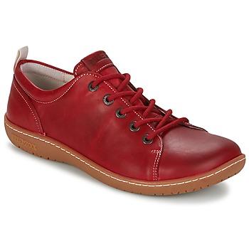 Shoes Women Derby Shoes Birkenstock ISLAY Red