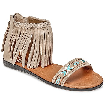 Shoes Women Sandals Minnetonka MOROCCO TAUPE