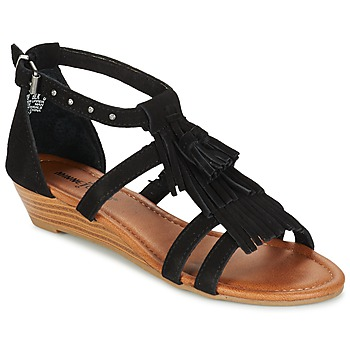 Shoes Women Sandals Minnetonka MARINA Black