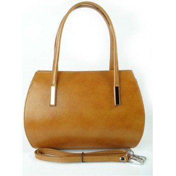 Bags Handbags Vera Pelle Camel Brown