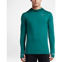 Clothing Men Long sleeved tee-shirts Nike Element Turquoise