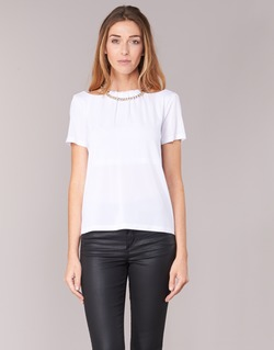 Clothing Women Tops / Blouses Versace Jeans B2HPB721 White