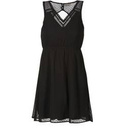 Clothing Women Short Dresses Vero Moda BIANCA Black