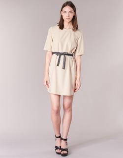 Clothing Women Short Dresses Vero Moda MILO SUKI BEIGE