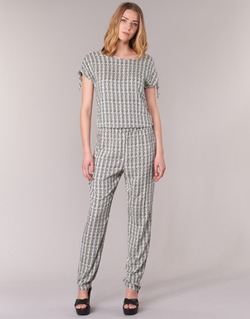 Clothing Women Jumpsuits / Dungarees Vero Moda NOW White / Black