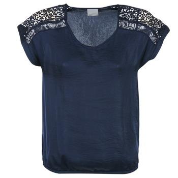 Clothing Women Tops / Blouses Vero Moda SATINI MARINE