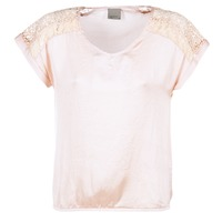 Clothing Women Tops / Blouses Vero Moda SATINI Pink