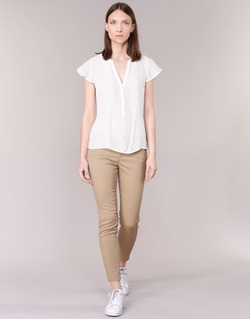 Clothing Women 5-pocket trousers Vero Moda BUENO BEIGE