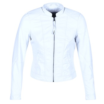 Clothing Women Leather jackets / Imitation leather Vero Moda QUEEN Blue / Clear