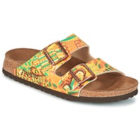 Shoes Women Mules Papillio ARIZONA Yellow / Green