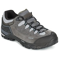 Shoes Men Multisport shoes Hi-Tec OX BELMONT LOW I WP TAUPE / Grey / Red