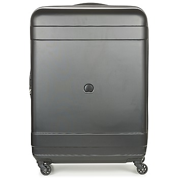 Delsey  INDISCRETE HARD 4R 76CM  womens Hard Suitcase in black