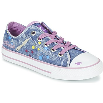 Shoes Girl Low top trainers Tom Tailor JIJAA Blue / Purple