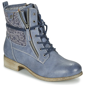 Shoes Women Mid boots Tom Tailor RELOUNI Blue