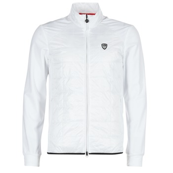Clothing Men Jackets Emporio Armani EA7 GREEN CLUB White