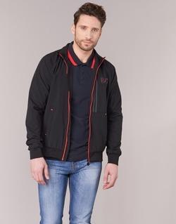 Clothing Men Jackets Emporio Armani EA7 TRAIN EVOLUTION Black