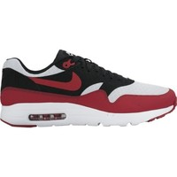 Shoes Men Low top trainers Nike Air Max 1 Ultra Essential White-Red-Black
