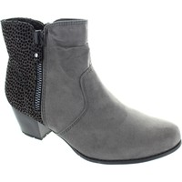 Shoes Women Ankle boots Soft Line 8-25370-27 206 Graphite