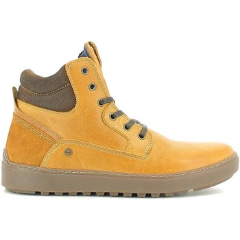 Shoes Men Mid boots Wrangler WM162010 Sneakers Man Camel Camel