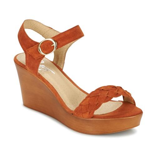 Shoes Women Sandals Betty London GIMI Rust