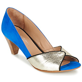 Shoes Women Heels Betty London GABIN Blue / Gold