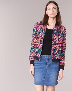 Clothing Women Jackets / Blazers Noisy May JUNGLE Multicoloured