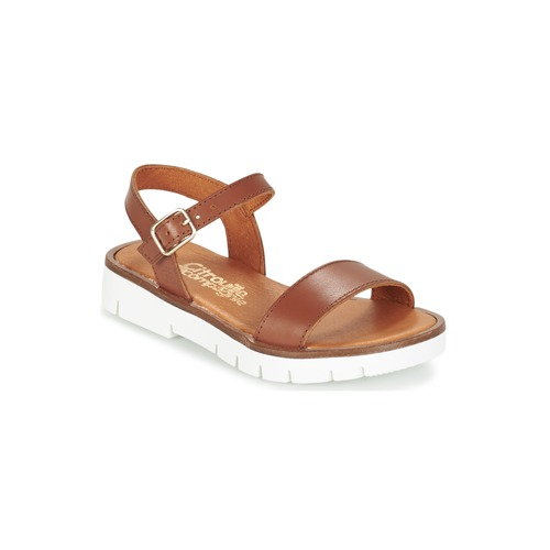 Shoes Girl Sandals Citrouille et Compagnie GLAPOTI Camel