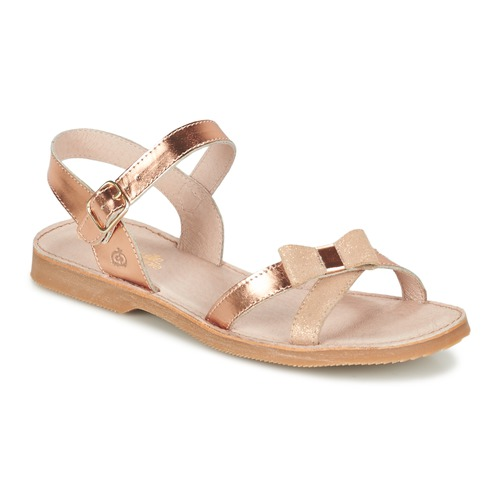 Shoes Girl Sandals Citrouille et Compagnie GOGOGATO BRONZE