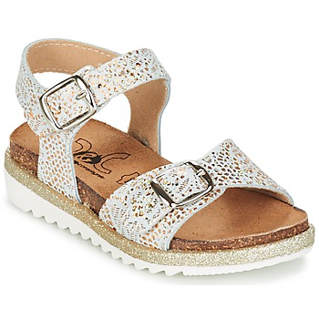 Shoes Girl Sandals Citrouille et Compagnie GAUFRETTE Gold