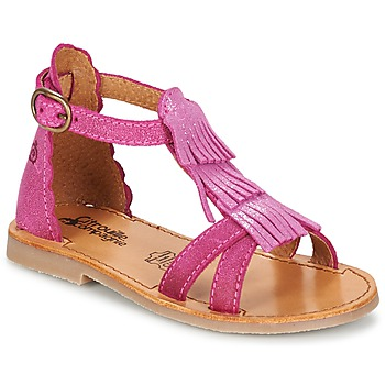 Shoes Girl Sandals Citrouille et Compagnie GAMELA Pink