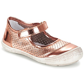 Shoes Girl Flat shoes Citrouille et Compagnie GUITAGO BRONZE