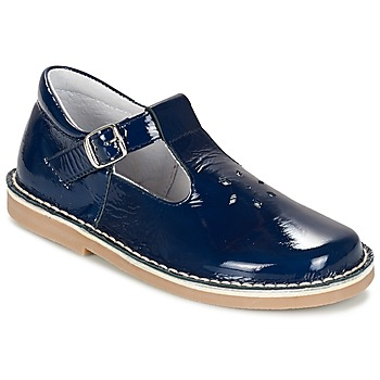 Shoes Girl Flat shoes Citrouille et Compagnie GARENIA Blue