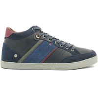 Shoes Men Hi top trainers Wrangler WM162101 Shoes with laces Man Navy