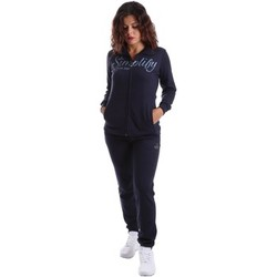 Clothing Women Jumpsuits / Dungarees Key Up T1N1 0001 Tuta Women Blue Blue