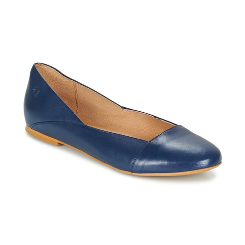 Shoes Women Flat shoes Casual Attitude TOBALO Blue