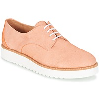 Shoes Women Derby Shoes Casual Attitude GEGE Peach