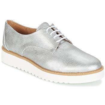 Shoes Women Derby Shoes Casual Attitude GEGE Silver