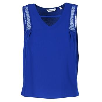 Clothing Women Tops / Sleeveless T-shirts Naf Naf OPIPA Blue