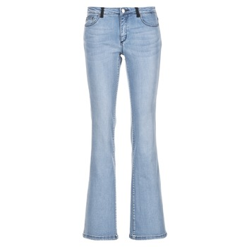 Clothing Women bootcut jeans Naf Naf GALY Blue / Clear