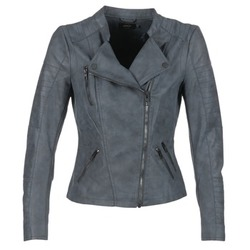 Clothing Women Leather jackets / Imitation leather Only AVA MARINE