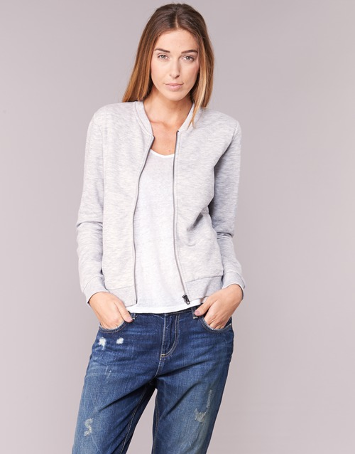 Clothing Women Jackets / Blazers Only JOYCE BOMBER Grey