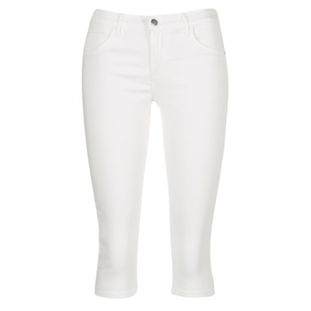 Clothing Women Cropped trousers Only RAIN REG White