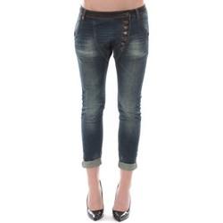 Clothing Women 3/4 & 7/8 jeans Dress Code Jean Remixx Bleu Brut RX862 Blue