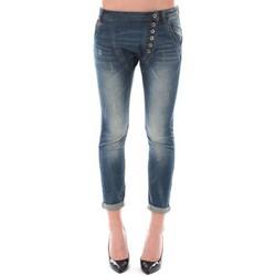 Clothing Women 3/4 & 7/8 jeans Dress Code Jean Remixx Bleu Delavé RX860 Blue