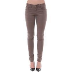 Clothing Women slim jeans Dress Code Jean Remixx Beige RX803 Beige