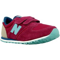 Shoes Children Low top trainers New Balance M 12 Red-Beige