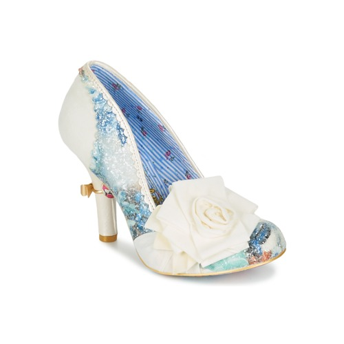 Shoes Women Heels Irregular Choice WASHINGTON White